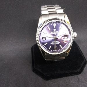 Nice automatic watch steel frame 38mm